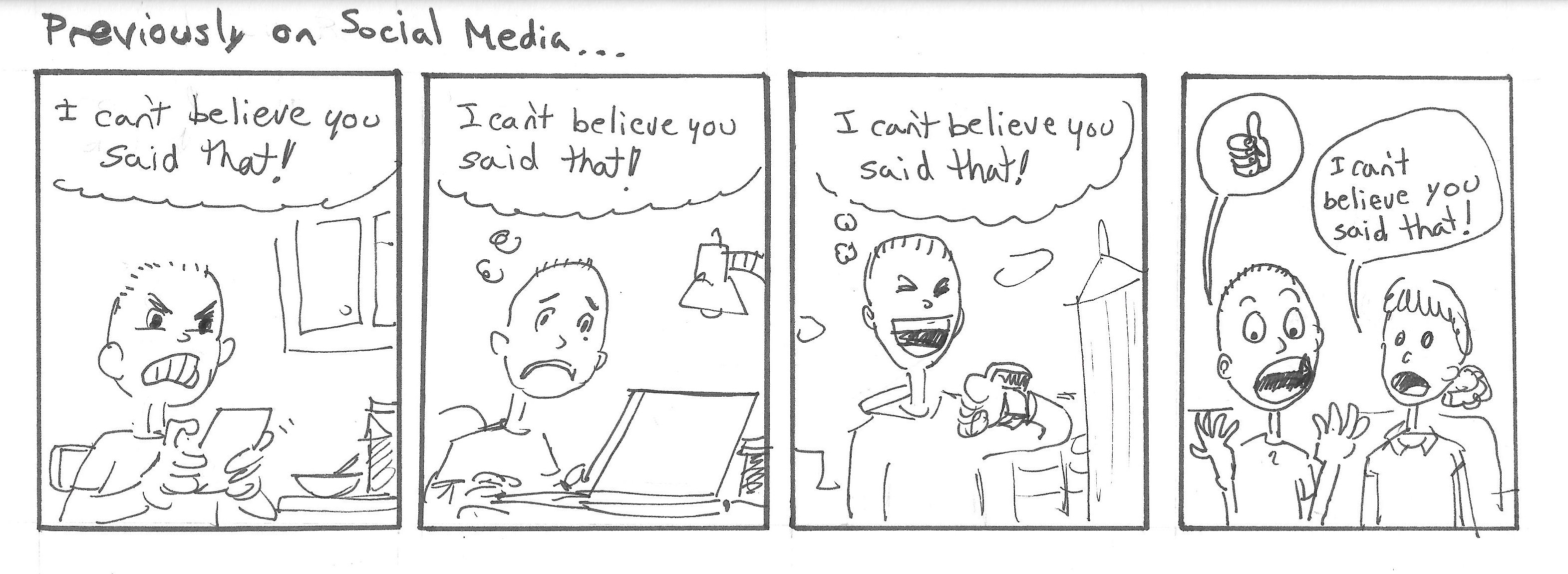 Previously on Social Media...